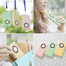 Portable Handheld USB Mini Air Conditioner Cooler Fan With Rechargeable Battery