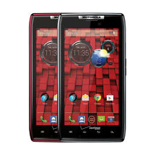 Motorola Droid RAZR XT912 BLACK - RED 16GB Verizon Android Smartphone
