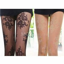 New Sexy Floral Fashion Pantyhose Lace Pattern Design Stockings Tights