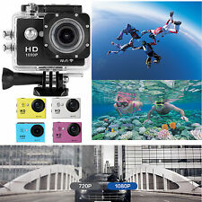 "2.0"" LCD WiFi Full HD1080P 12MP DVR Helmet Cam DV Camera Waterproof SJ6000-W9"