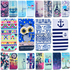 For Samsung Galaxy S4/ S3 Luxury Painted Money Wallet Stents Leather Cover Case