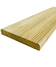 10 Value Decking Boards 19 x 118mm - Cheap Tanalised Garden Decking