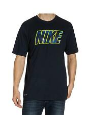 Nike Men's Dark Navy Training Short Sleeve Graphic T-Shirt 475027-452 S-2XL