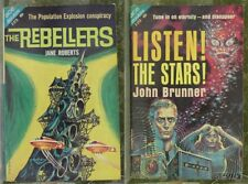 1963 1st Ace Double F215 PB- LISTEN! THE STARS! / THE REBELLERS - BRUNNER  6a