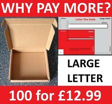 ROYAL MAIL Mini Jewellery PIP LARGE LETTER SIZE POSTAL PARCEL CARDBOARD BOX