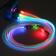 Hot Lot Colors Light LED Data Sync Cabal for Iphone 4/5/6 Samsung Android Phones