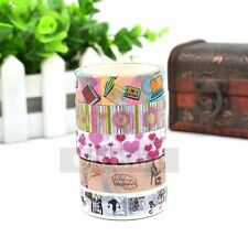 1X Washi Tape Craft Ideas Scrapbooking Sticky Adhesive DIY Decor Free Shipping