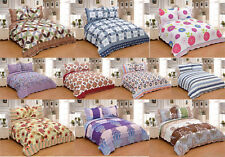 3Pc Full Queen King Size 100% Polyester Bedspread Quilt Shams Coverlet Ensemble