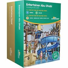 Entertainer Abu Dhabi 2015 Vouchers **FROM 99p EACH **  Ferrari, YAS Waterpark