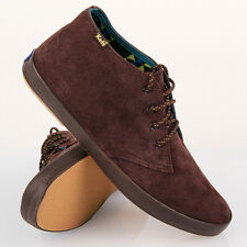 Keds Authentic New Men's Chukka Suede Brown Low Rise Shoes Sizes US 8 &10.5