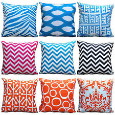 Quality Cushion Cover Outdoor Indoor Home/Patio Decor 45x45cm WATER RESIST