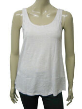 Womens Sfera Nappy Cotton Vest Tank Top Off White Multi Dot Size 10 to 14 Ladies