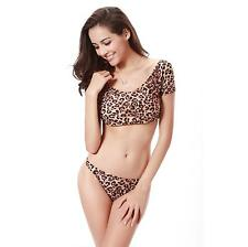 Sexy Leopard Print Separates Swimsuit Beach Swimming Suit Swimwear Bikini Sets