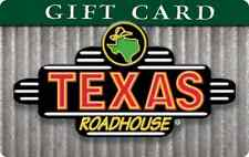 Texas Roadhouse Gift Card $25 $50 $100 - mail delivery
