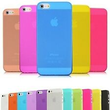 • COQUE ETUI HOUSSE SILICONE • EXTRA SLIM 0.3MM GEL • COMPATIBLE iPhone 5 / 5S •