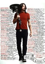 DAVE GROHL Foo Fighters PHOTO Print POSTER Wasted Life Sonic Highways 011