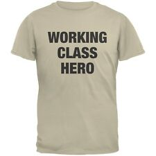 Working Class Hero Inspired By John Lennon Sand Adult T-Shirt