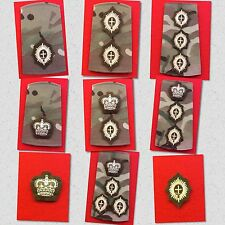 Guards Officers MTP Rank Slides Foot Guards Multicam Rank Coldstream Guards