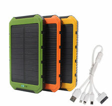 20000mAh Solar Battery 2-USB Charger External Power Bank For Mobile Phone Iphone