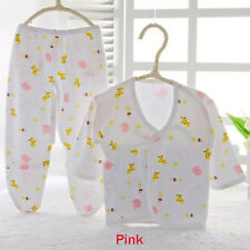 Boys Girls Baby Animal Print Belted Shirt and Pants Newborn Clothes 0-3M