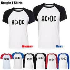 ACDC Malcolm Angus Young Music Rock Band Graphic Men's Women's Couple T Shirt