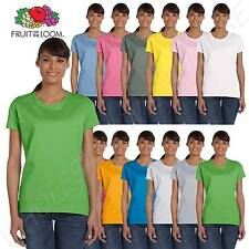 Fruit of the Loom Women's 5 oz 100% Heavy Cotton HD BIG SIZE T-Shirt L3930R
