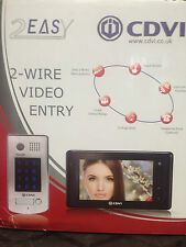 CDVI EASY 2 2WIRE VIDEO INTERCOM WITH KEYPAD FOR ELECTRIC GATE AUTOMATION