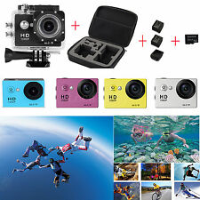 "SJ6000-W9 2.0"" WiFi 12MP HD 1080P Camera+Carry Bag+2x battery+ 32GB Card+Charger"