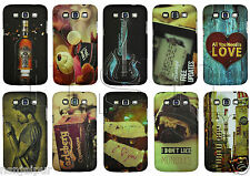 N2S Touch Feel Night Glow Hard Back Cover For Samsung Galaxy Grand Quattro i8552