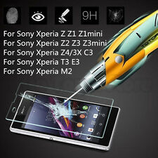 Explosion Proof Premium Tempered Glass Film Screen Protector For Sony Z3 Z2 Z1