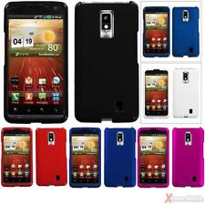 For LG VS920(Spectrum) Snap On Hard Case Cover Various Colors