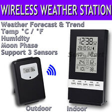 Risepro Wireless Weather Station Indoor Outdoor Temp Thermometer Humidity °C °F