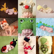 NEWBorn, Baby Cute Child Crochet Knit Costume Clothes Photo Photography Prop Hat