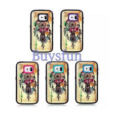 Dream Catcher Shock Proof Rugged Purple Cover Case For Samsung Galaxy S6 GS6