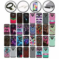 IMAGE DOUBLE LAYERED ARMOR HYBRID CASE SAMSUNG GALAXY CORE LTE + ACCESSORY SET