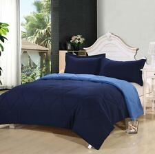On Sale 3pcs Solid Reversible Comforter Set King/Queen Size