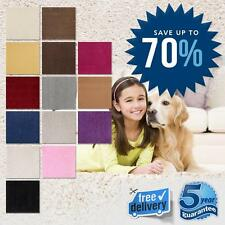 Feltback Cheap Carpet 7mm Twist Stain Resistant NEW 14 Spend £60 & Get FREE GIFT