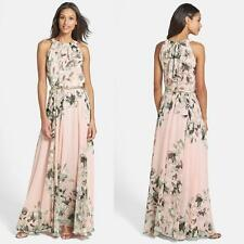 Fashion Ladies Womens Maxi Boho Summer Long Skirt Evening Cocktail Party Dress