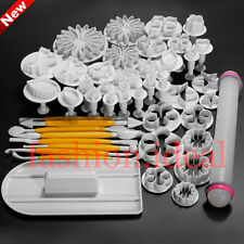 New Multiple Styles Fondant Cake Decorating Plunger Cookie Cutter baking Tool #F