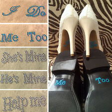 5 Style I Do/Me Too Bridal/Groom Shoe Stickers Wedding Accessory Wedding Decals