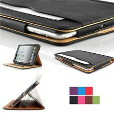 New Soft Leather Wallet Smart Sleep / Wake Stand Case Cover for iPad Mini 1 2 3