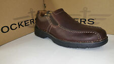 Dockers Zane Light Weight Brown Leather Casual Shoes size 7-12