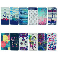 PORTEFEUILLE SIMILI CUIR COQUE ETUI HOUSSE COVER CASE FLIP iPhone 4S 5 5S 6Plus