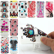Housse étui coque silicone case gel cover motif divers iPhone 5 5G 5S 6 6Plus