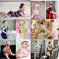 Cute Kids Baby Headband+Newborn/Infant/Toddler Photo Prop Costume Dress Clothes