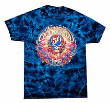 Official Grateful Dead 50th Anniversary Tie Dye T Shirt,Short Sleeve,Long Sleeve