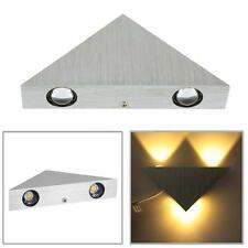 3W Modern Triangular Aluminum LED Wall Light Sconce Lamp Bedroom Hallway Decor