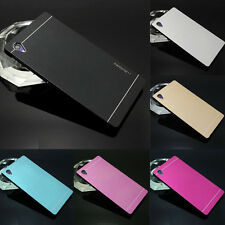 Motomo Metal Aluminum Brushed Hard Back Case Cover Skin For Sony Xperia Phone