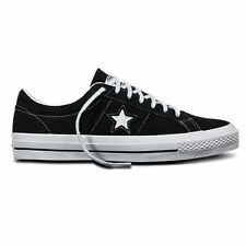 Converse Cons One Star Pro Black White Suede Skateboard Shoe