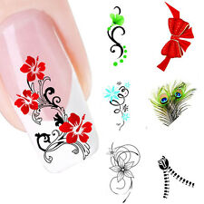Fashion Nail Art Sticker Water Transfer Stickers Decals Tips Decoration Stickers